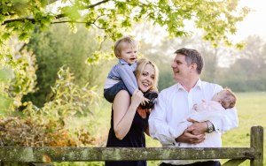 Sunset family photography session in Chelmsford Essx
