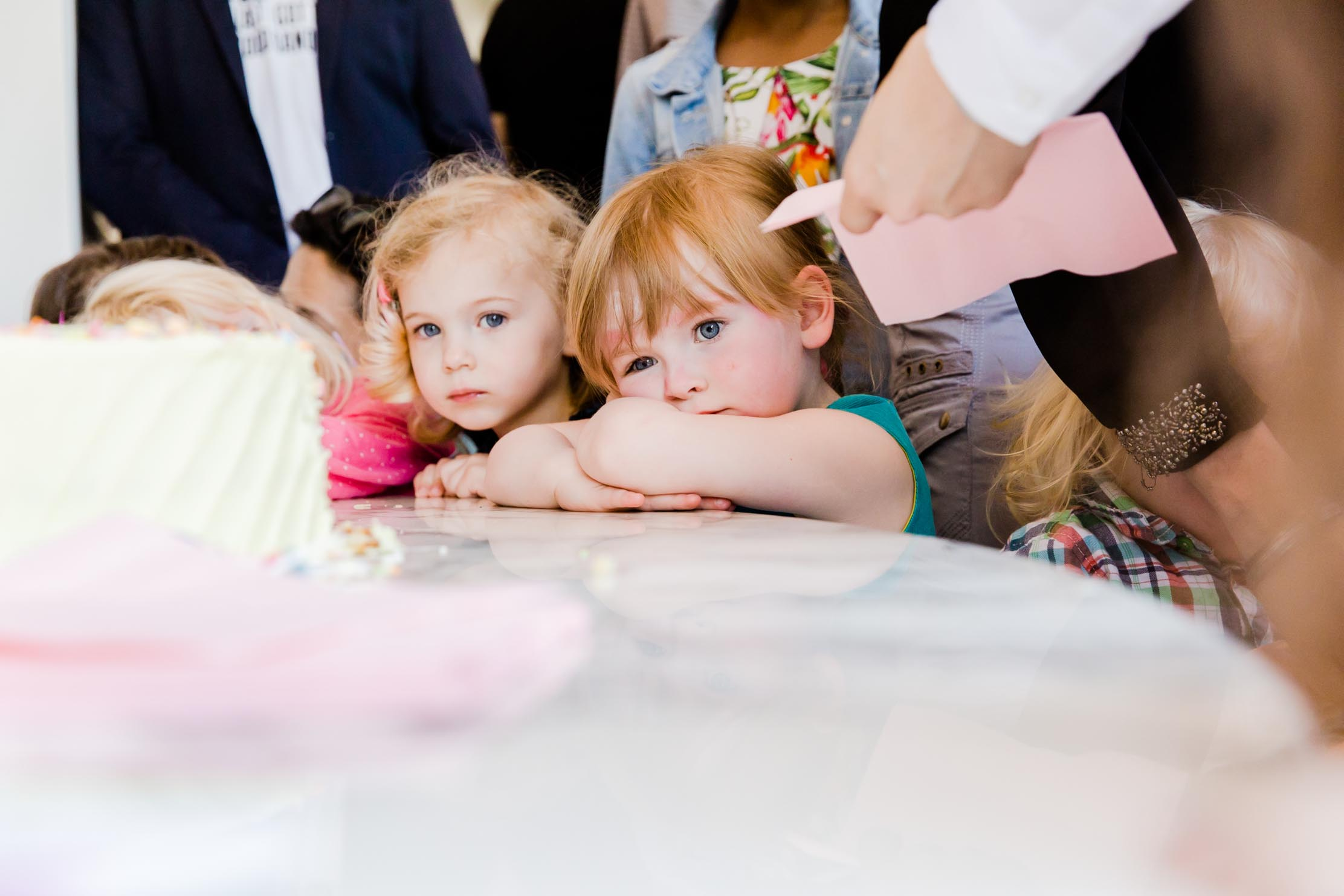 waiting for cake, party, children's photographer