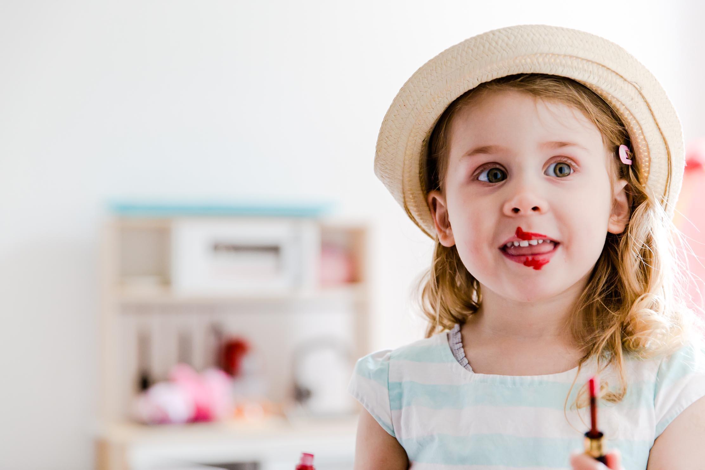 lipstick, child photographer, makeover