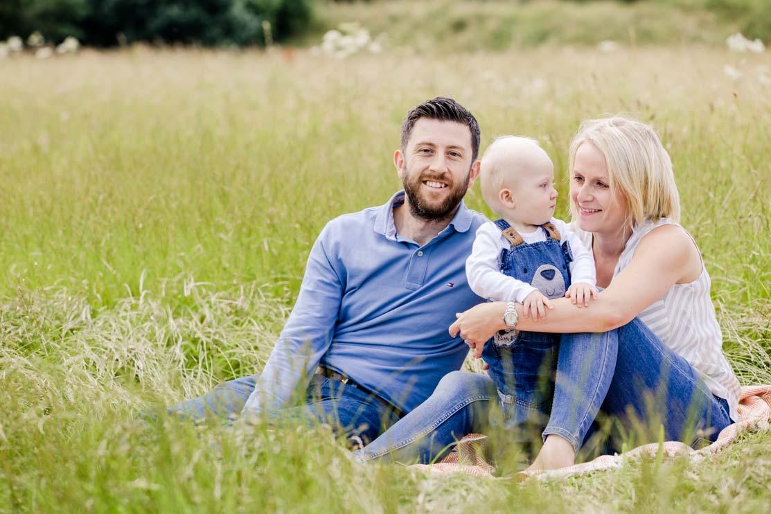 family shoot, meadow, Admirals park, summer