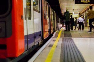 waterloo & city line tube