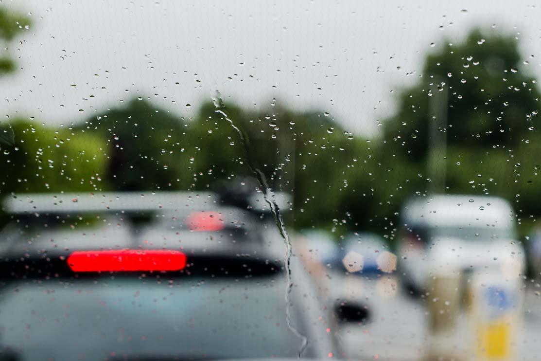 rain, windscreen, traffic