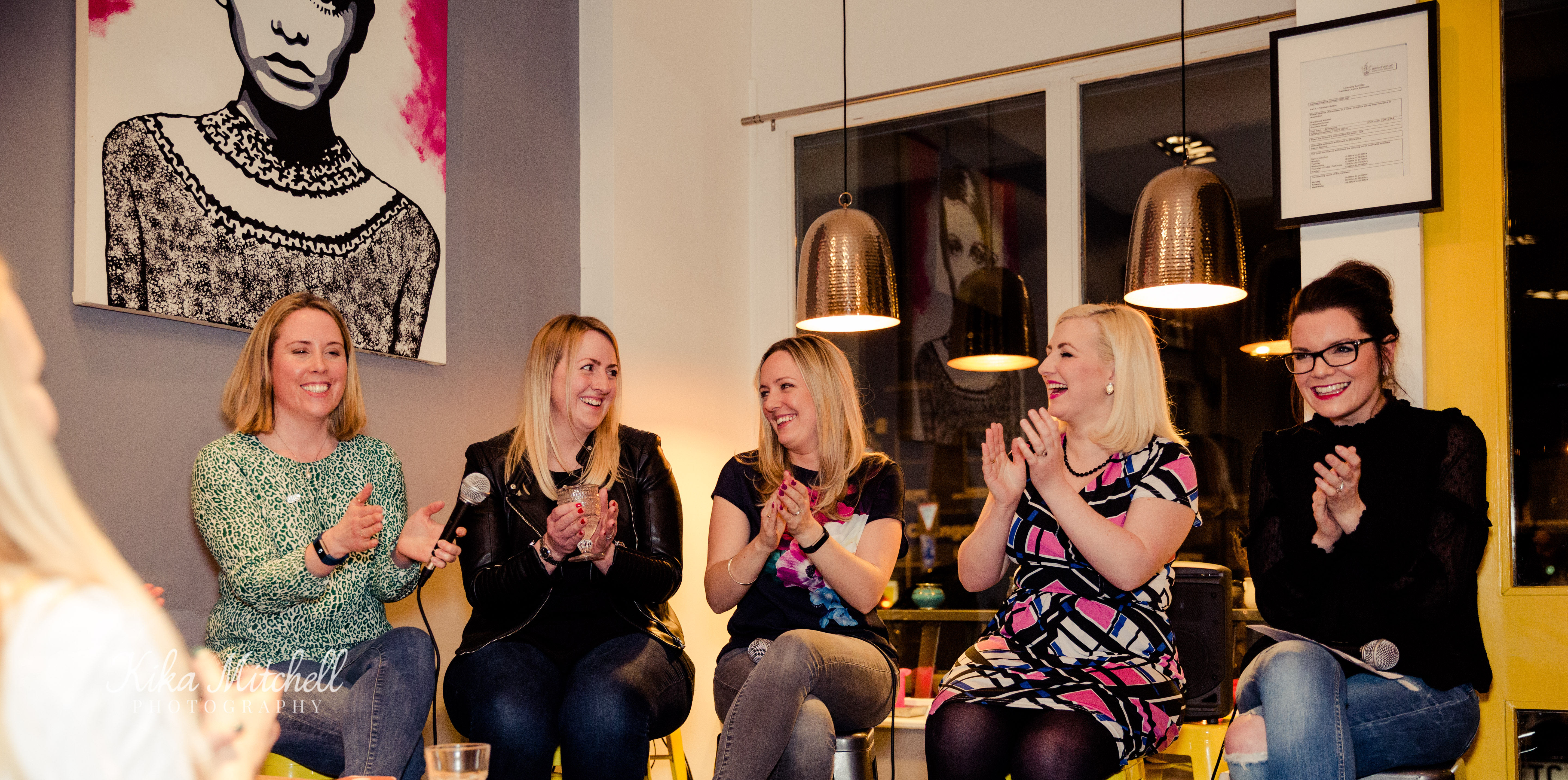 The Mother Hub panel at Brentwood Kitchen by Chelmsford Photographer Kika Mitchell Photography