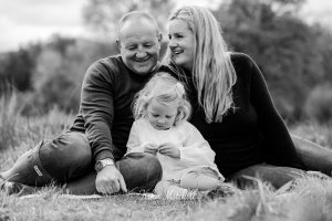 black and white family photgraph from Kika Mitchell Photography Chelmsford photographer