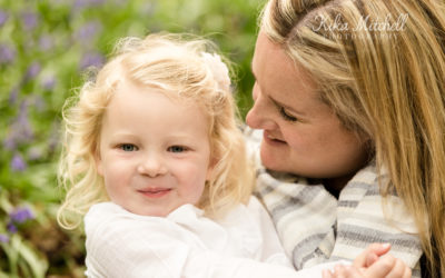 Family Bluebell photoshoot in Chelmsford Essex
