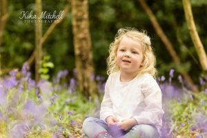 bluebell children's portraits by Kika Mitchell photography Chelmsford photographer