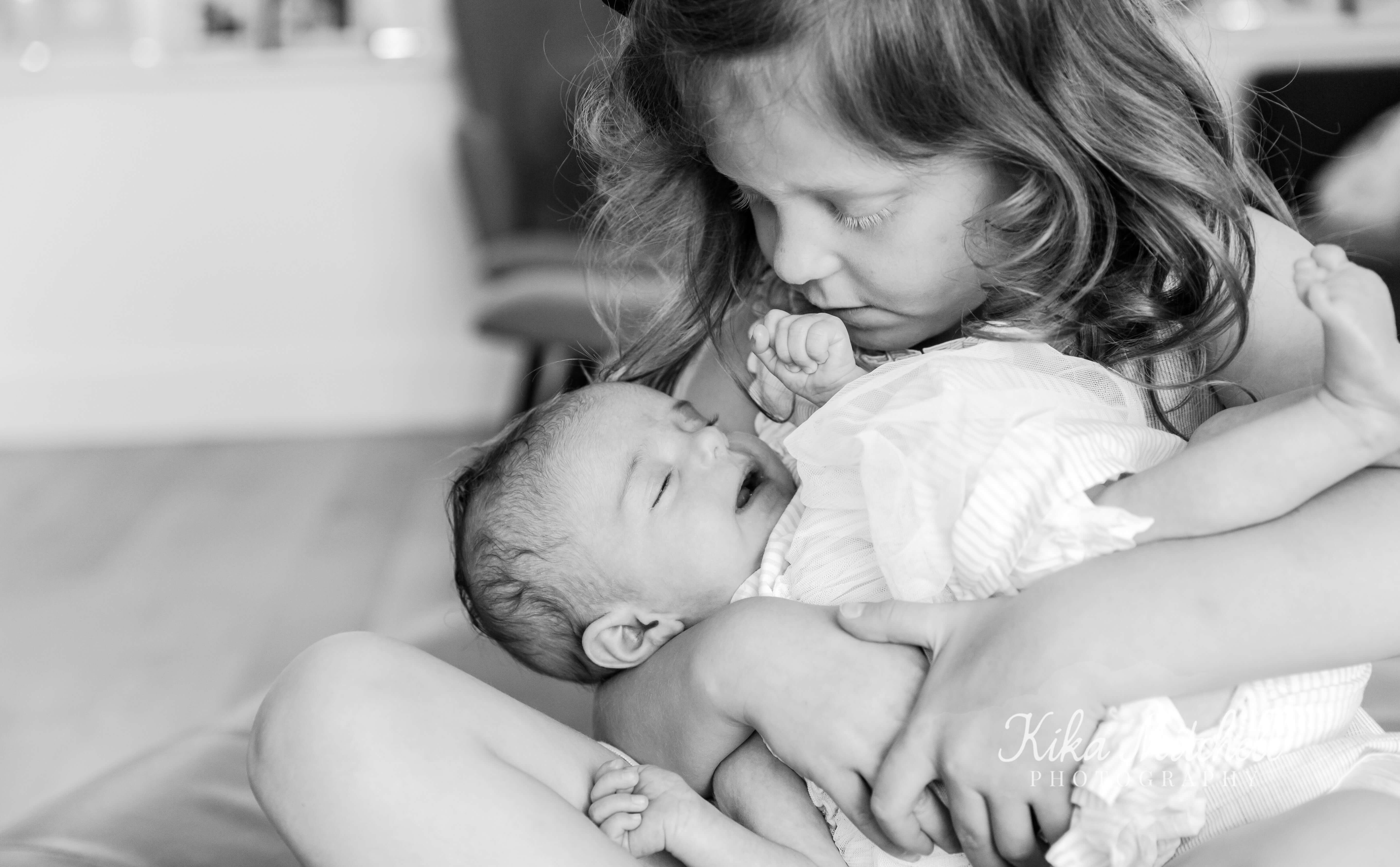 sibling photography on newborn shoot by Kika mitchell Photography Chelmsford Photographer