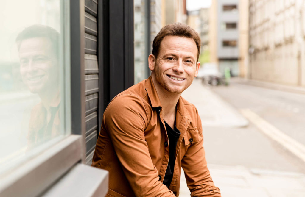Joe Swash Television presenter Personal Branding and headshot photography by Chelmsford photographer Kika Mitchell Photography