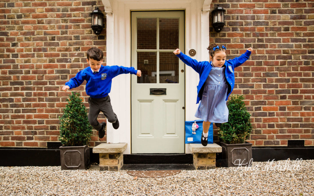 Helpful Tips to Get Lovely Starting School Photos