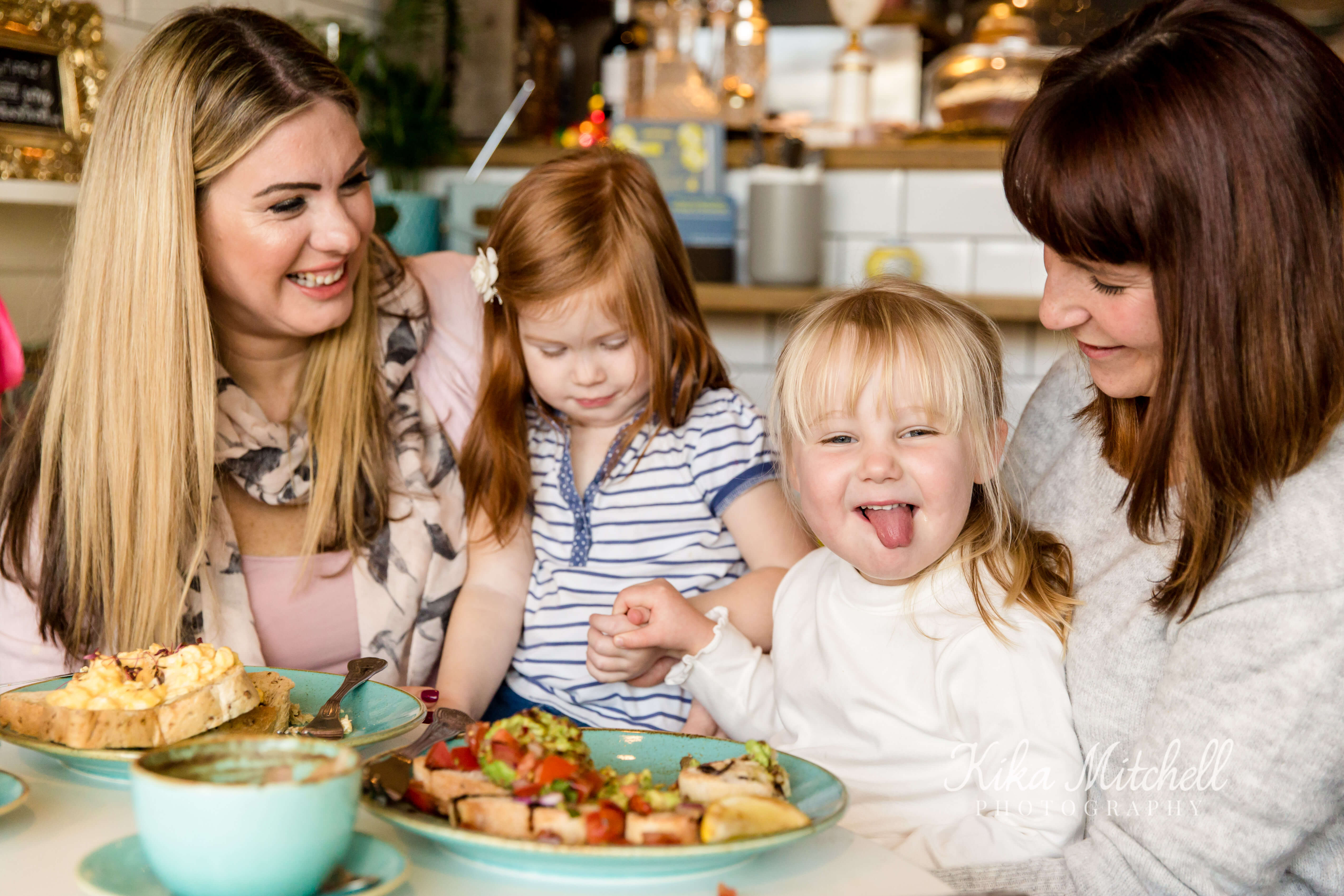 Personal branding shoot of Happy Tums featuring happy children eating by Chelmsford photographer Kika Mitchell Photography