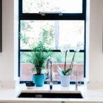 Crittall window as featured in Kika Mitchell Photography's blog Our dream kitchen