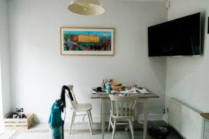 end wall before shot for Dream kitchen blog by Chelmsford photographer Kika Mitchell Photography
