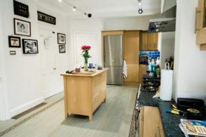 Dream Kitchen wide shot before kitchen renovation by Chelmsford photographer Kika Mitchell Photography