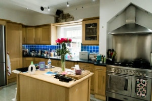 before shot of dream kitchen oven and island by Chelmsford photographer Kika Mitchell Photographer