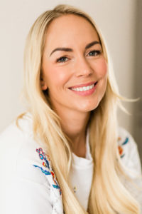 Emily Norris latest family shoot headshot of gorgeous mum of 3 boys in Brentwood home