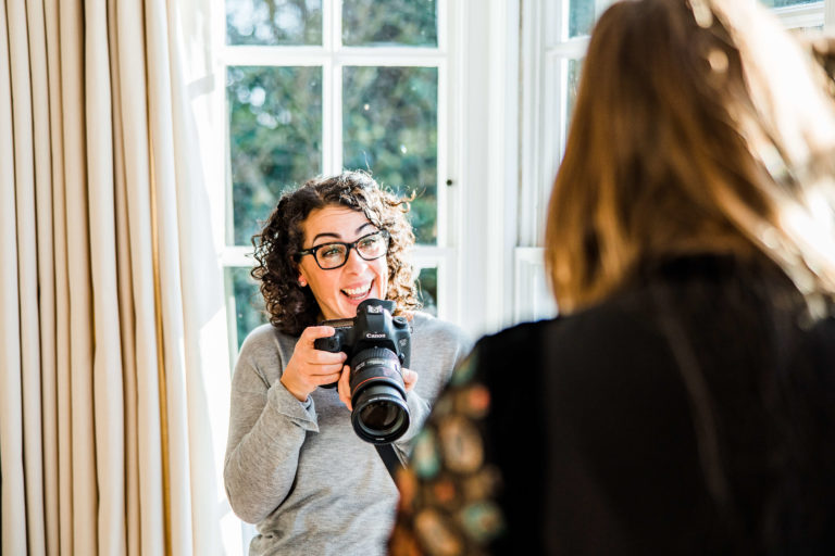 Behind the scenes with Chelmsford photographer Kika Mitchell Photography captured on lifestyle shoot by Farlie photography Colchester photographer