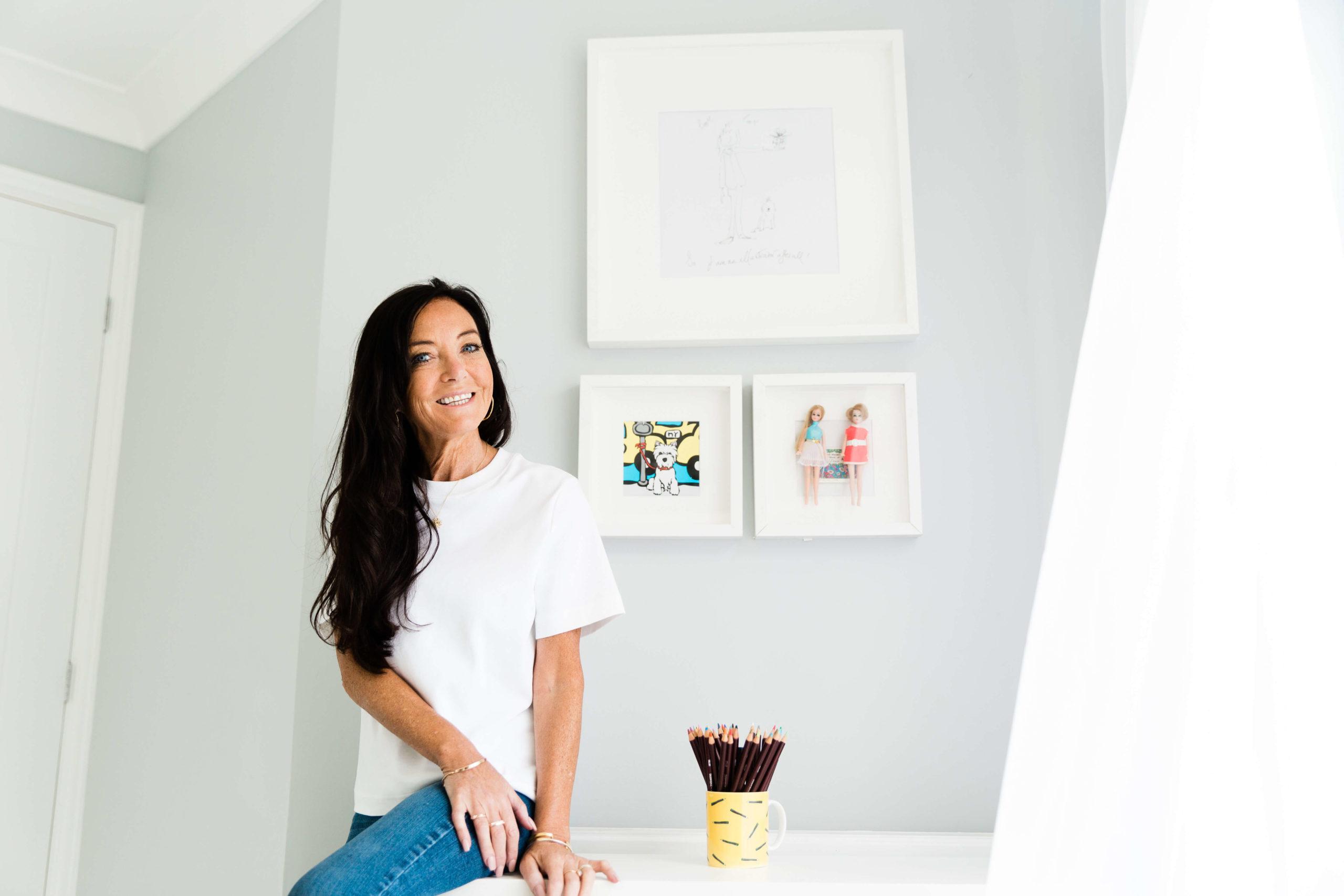 Juli Dosad illustrator captured by Personal Branding photographer Kika Mitchell Photography